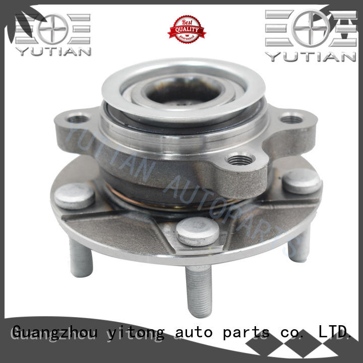 Yutian standardized wheel bearing and hub replacement factory for wholesale