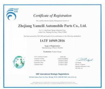 pneumatic shock absorber xrv for distributor Yutian-9