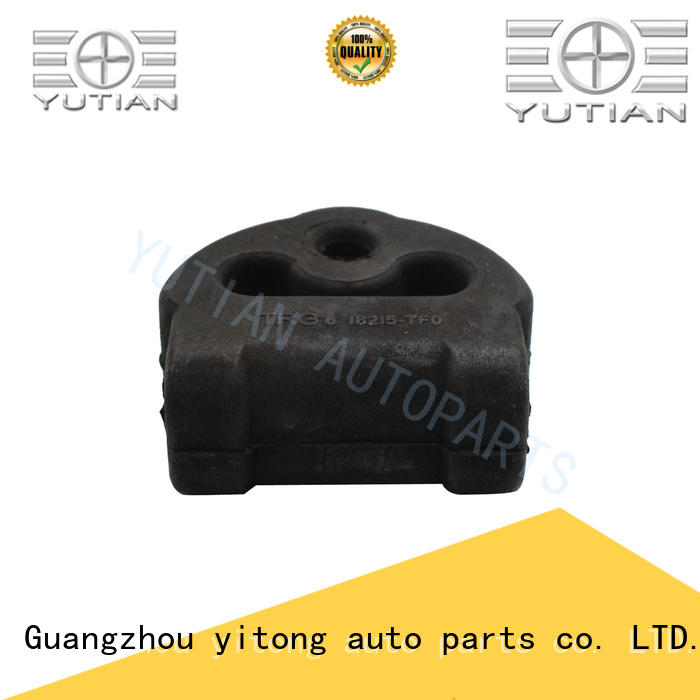 Yutian adhesive universal exhaust rubber mount factory for sale