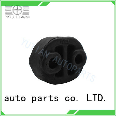 Yutian exhaust pipe rubber hangers exporter for sale