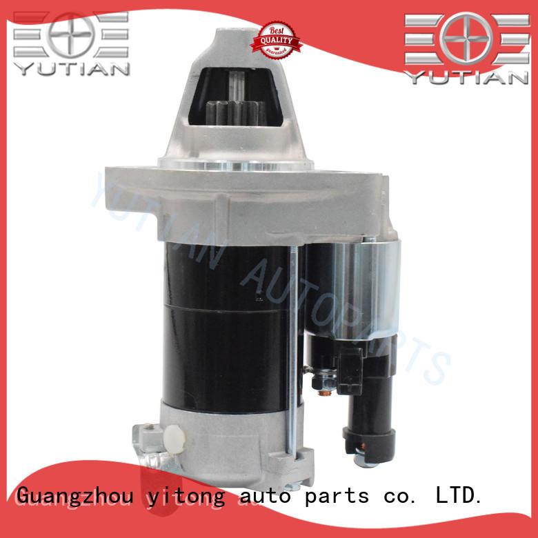 Yutian customized car engine starter supplier for distributor