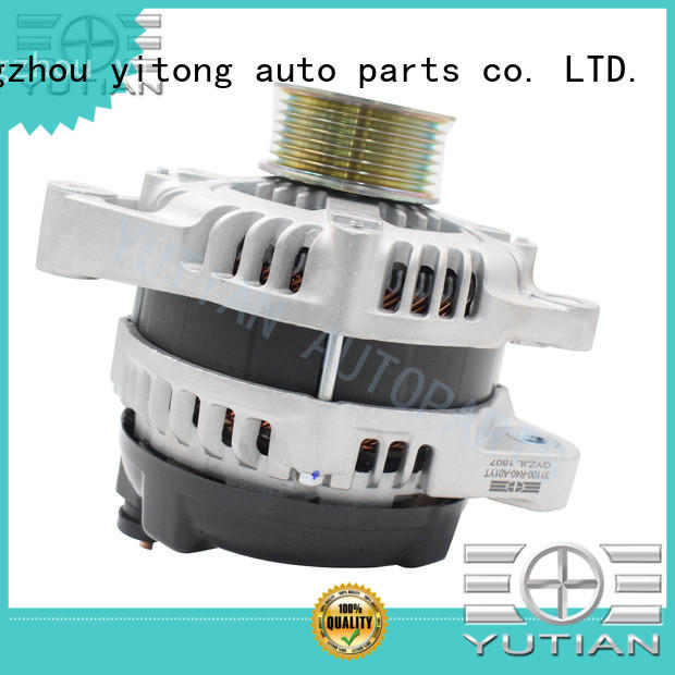 Yutian high quality high output alternator supplier for wholesale