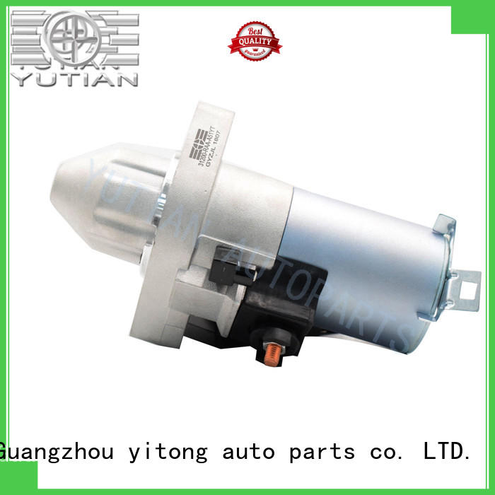 Yutian durable engine starter factory for sale