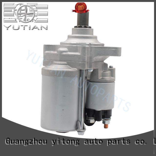 Yutian customized starter motor price 20082013 for sale