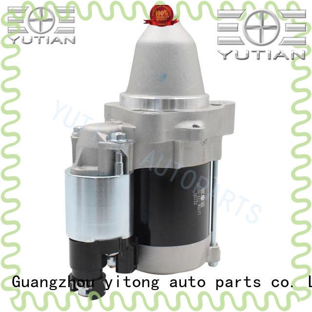 Yutian customized starter motor supplier for wholesale
