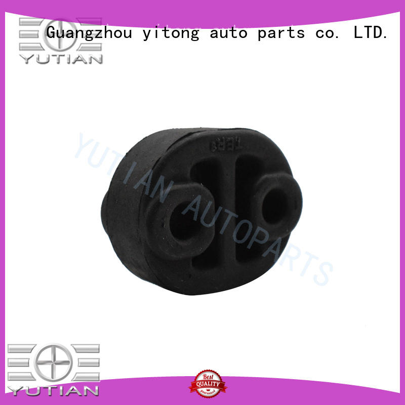 Yutian fit exhaust hanger rubber insulator factory for overseas trader